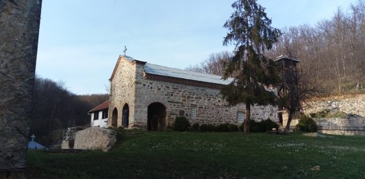 manastir svetog georgija u ajdanovcu